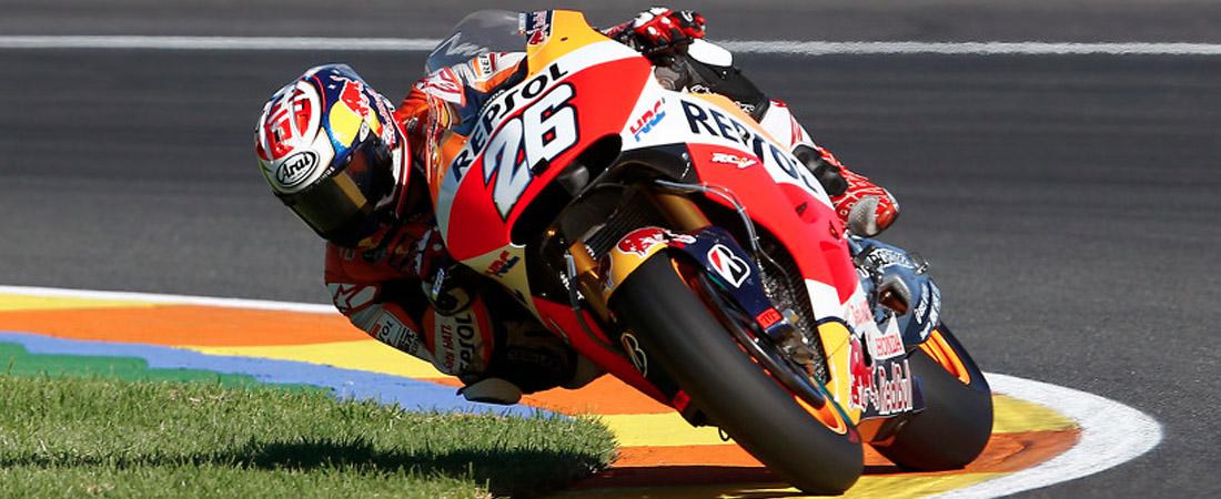 Dani Pedrodsa el mejor del MotoGP