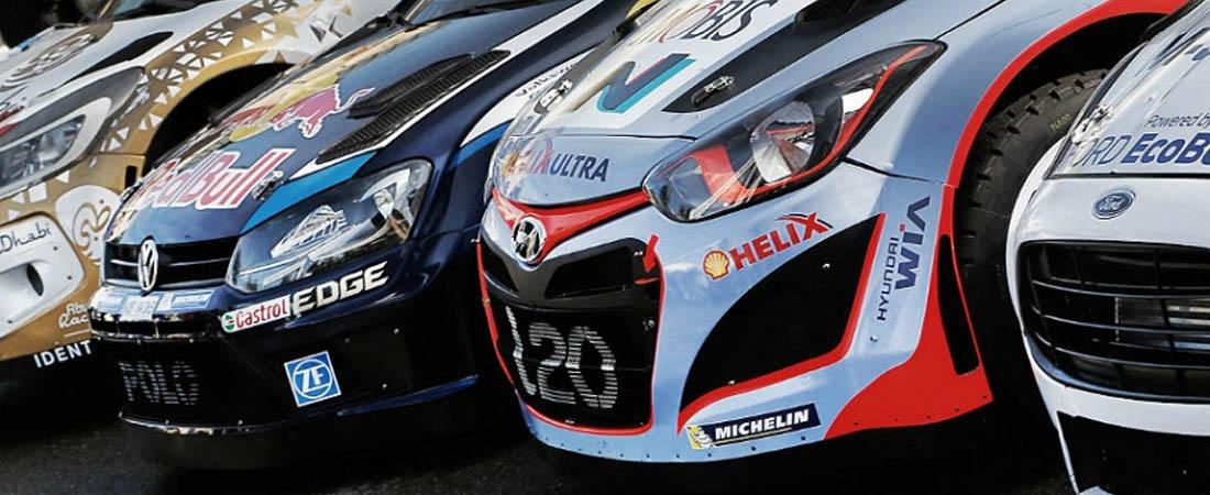 Autos más desarrollados para el WRC 2016