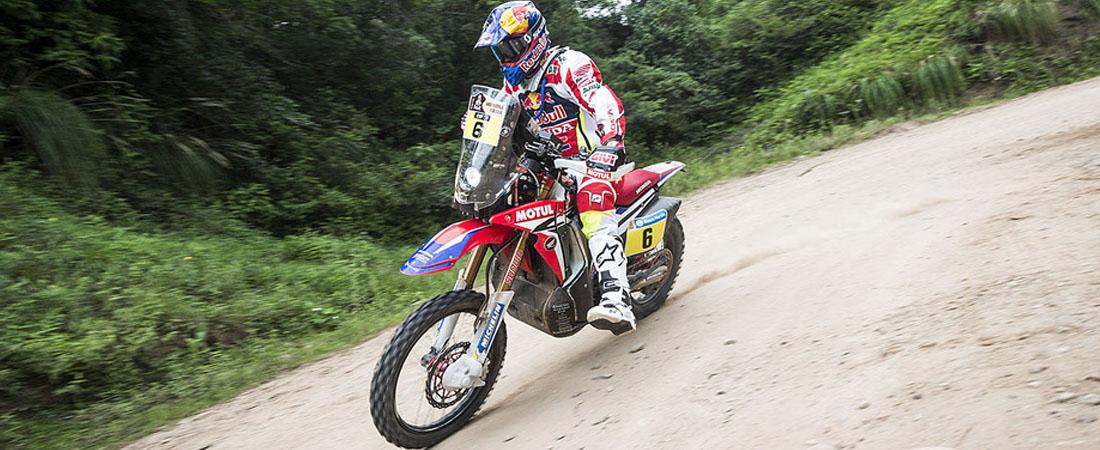 Johan Barreda castigado en la etapa 4 dakar 2016
