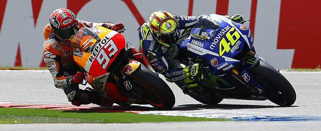 Marquez rompe con marca de Valentino Rossi