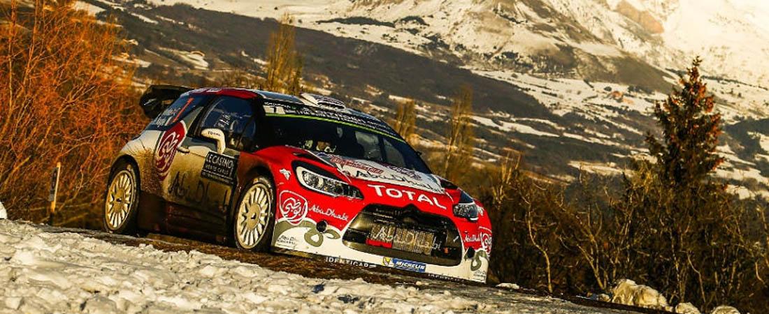 WRC Monte-carlo 2016 Shakedown