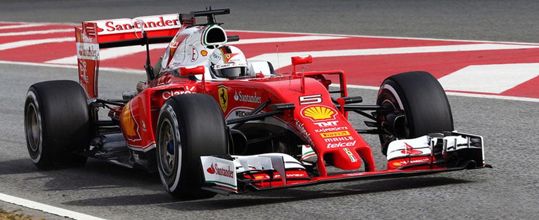 Sebastian vettel 2016 test barcelona Ferrari