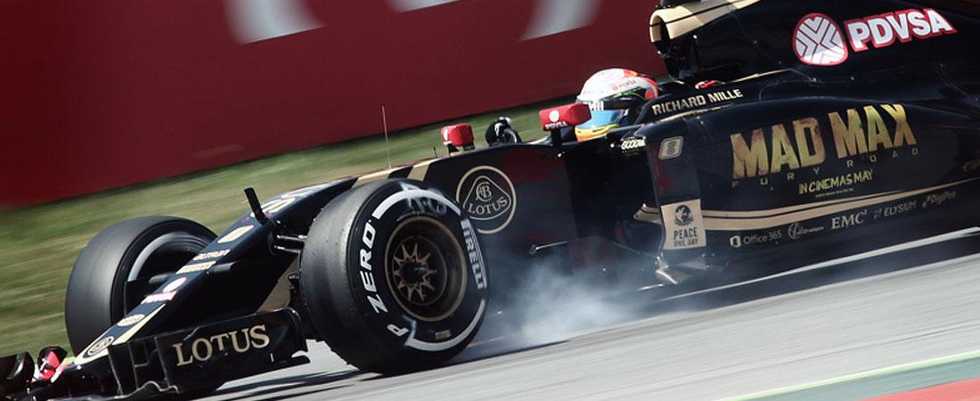 pastor Maldonado fuera de la F1 2016