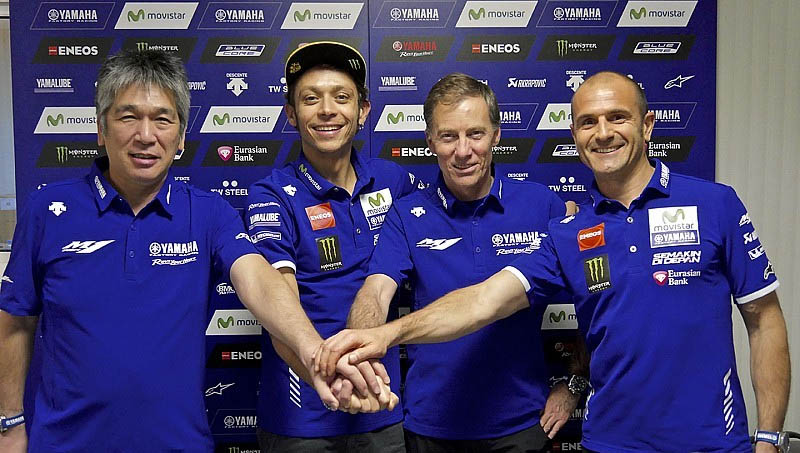 Valentino rossi official yamaha 2016