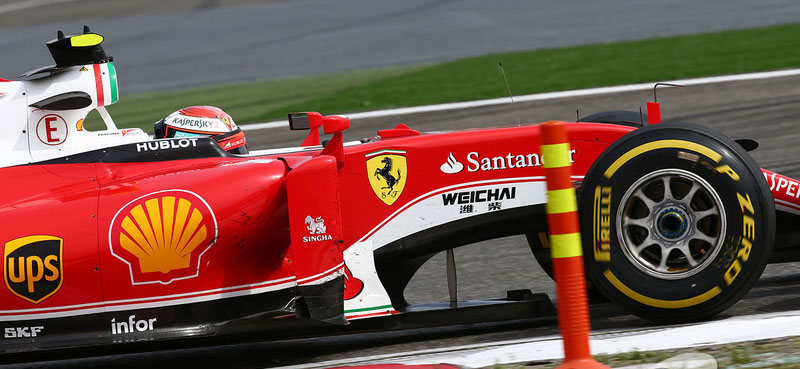 Kimi Raikkonen GP China 2