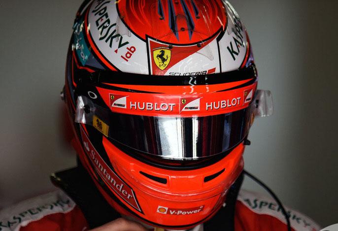 Kimi Raikkonen GP China
