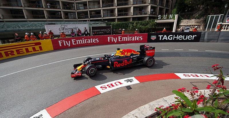 Daniel Ricciardo GP Monaco 2016 libres 2