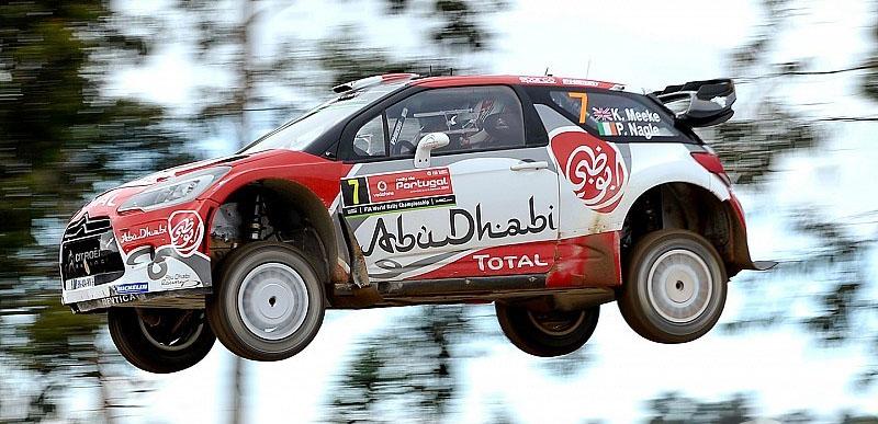Kriss Meeke Portugal WRC 2016 stage 4