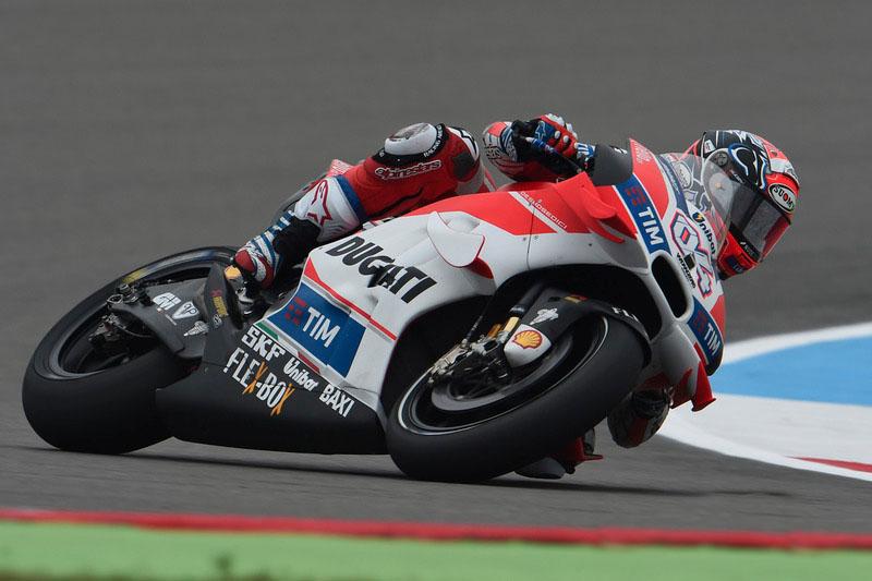 Andre Dovizioso Pole Holanda MotoGP 2016