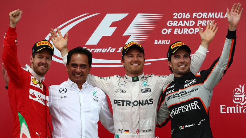 F1 GP Baku 2016
