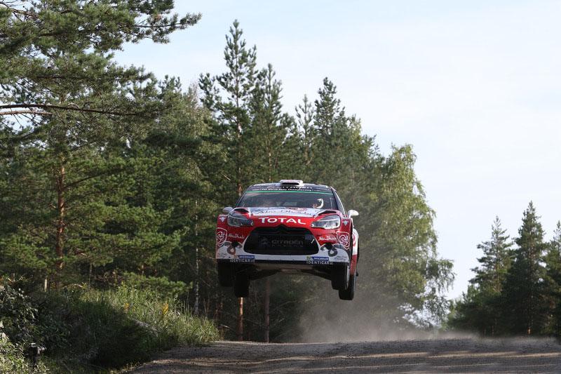 Chris Meeke WRC Finlandia Sabado 2016