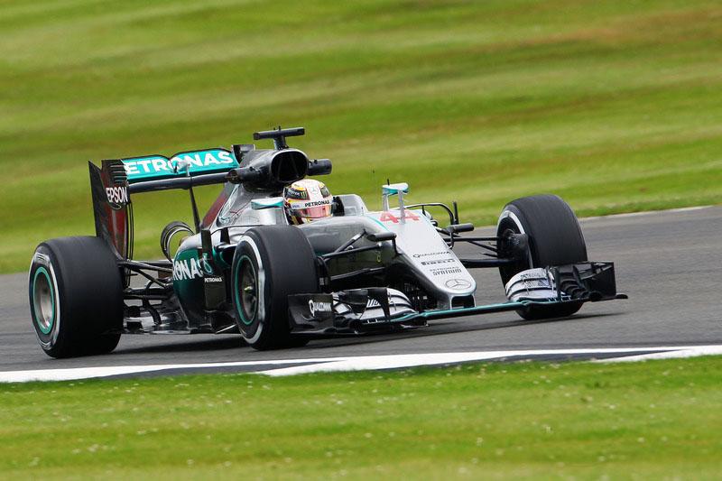 Lewis Hamilton British GP 2016 FP