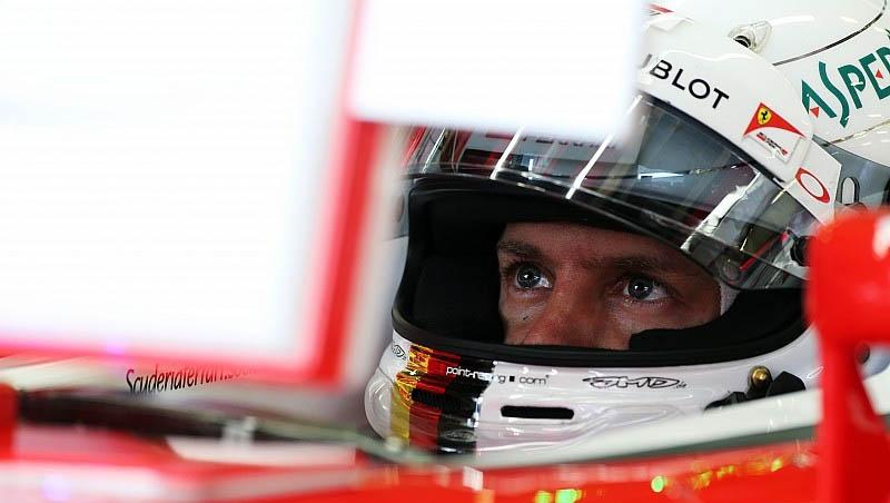 Sebstian Vettel GP Hungria