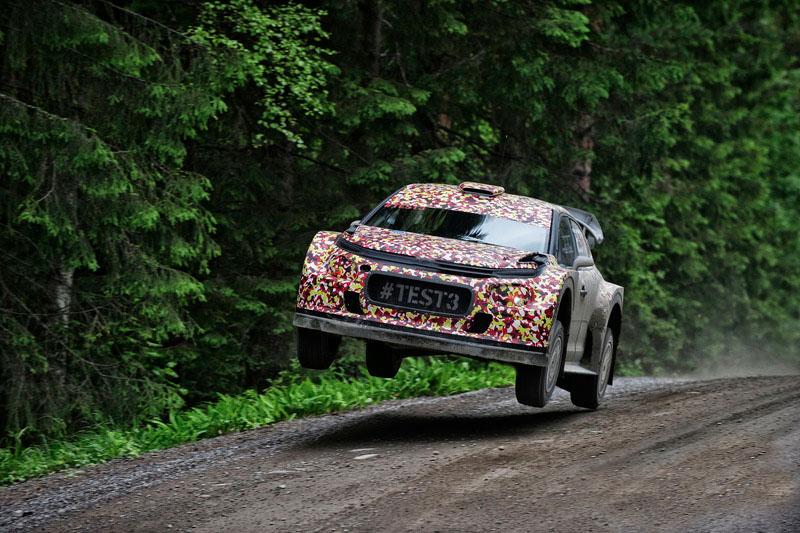 test Citroen WRC 2017