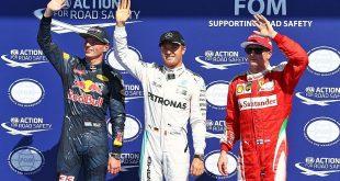 Pole Position GP Belgica F1 2016