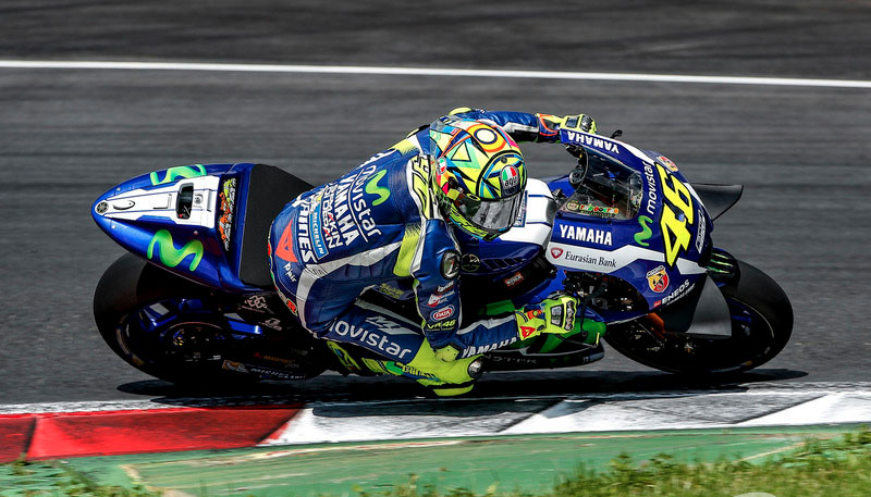 Valentino Rossi GP Austria 2016 jueves