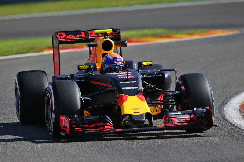 Verstappen GP Blegica practicas libres