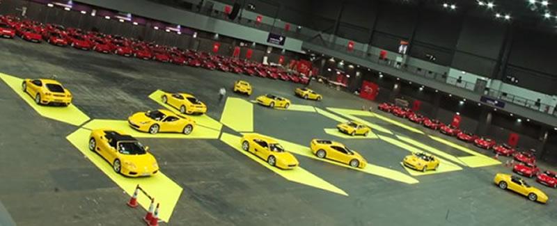 30 anos Ferrari en Hong Kong