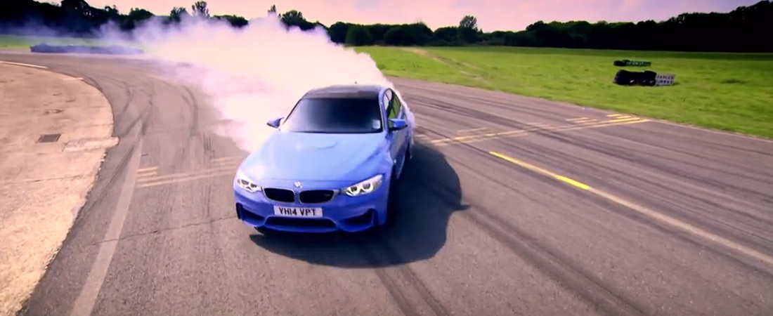 BMW M3 Top Gear