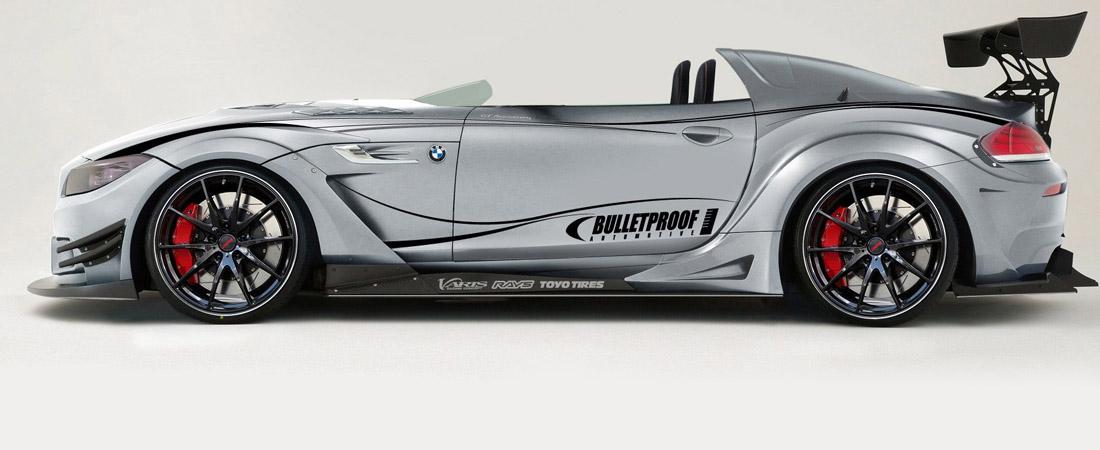 BMW Z4 Bulletproof