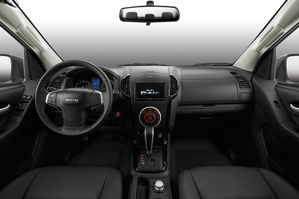 Blue console LHD