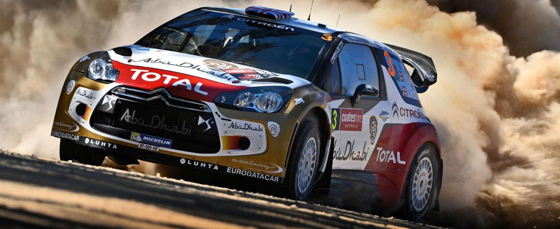Chris Meeke contra WRC australia