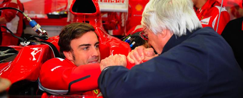Ecclestone desilusionado con Alonso