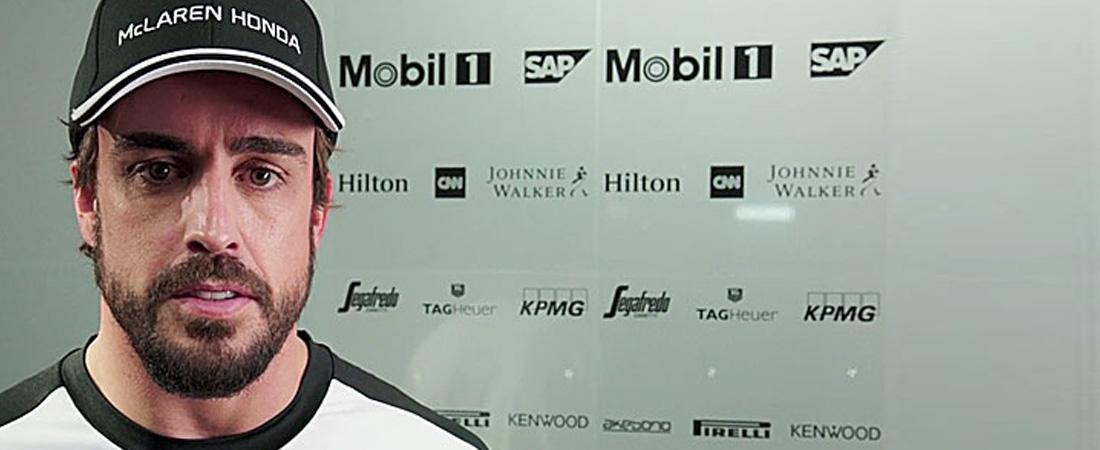 Fernando Alonso mcLaren despues de Suzuka