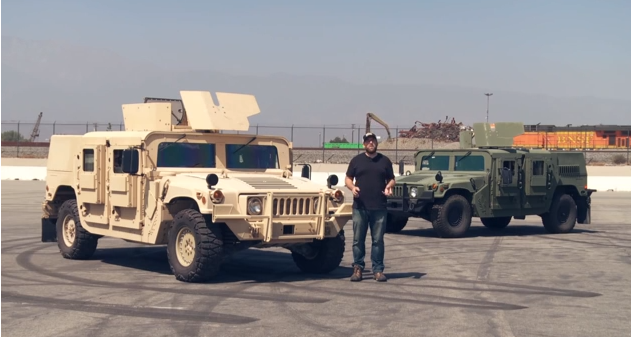 Humvee vs humvee