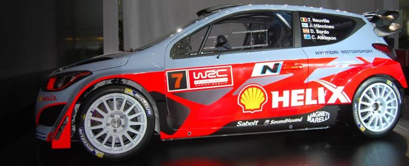 Hyundai i20 WRC Oficial