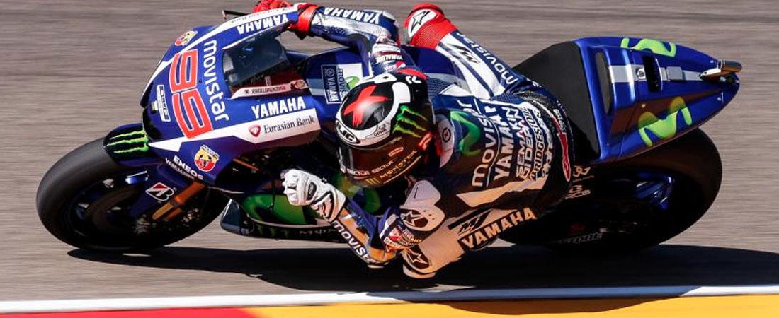 Jorge Lorenzo ganador MotoGP Aragon 2015