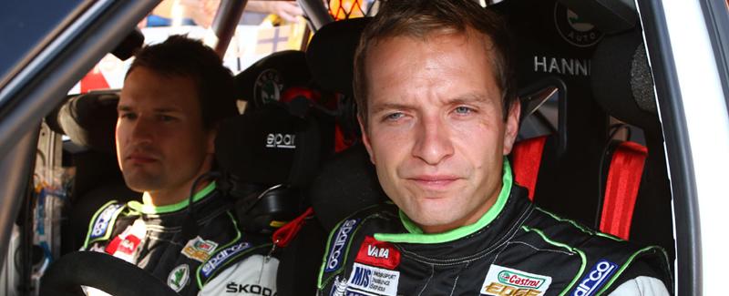 Juhno Haninen en Hyundai WRc 2014