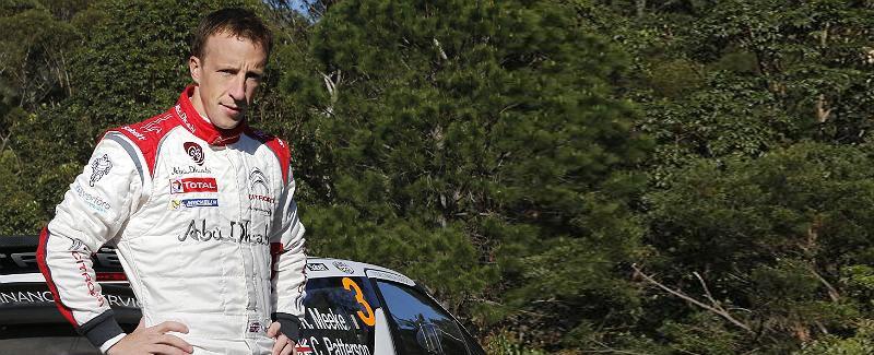 Kris Meeke y Ostberg Citroen 2014 WRC