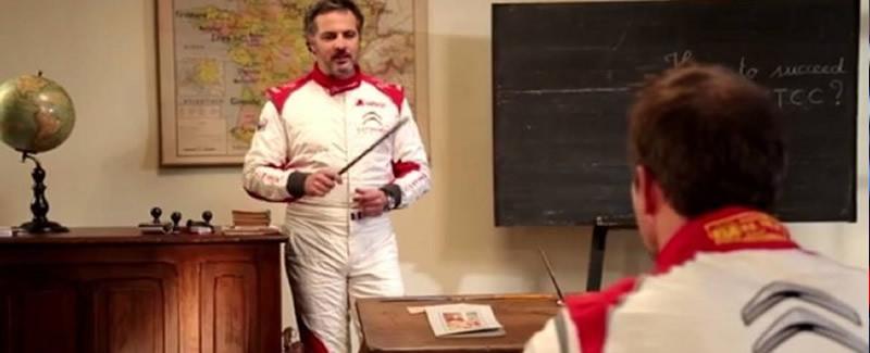 Loeb recibe clases de Muller
