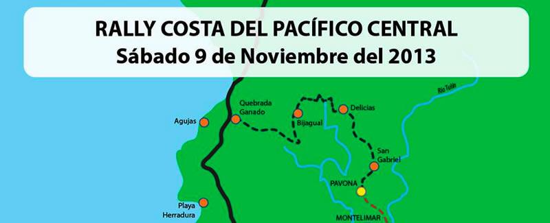 Mapa Rally Jaco