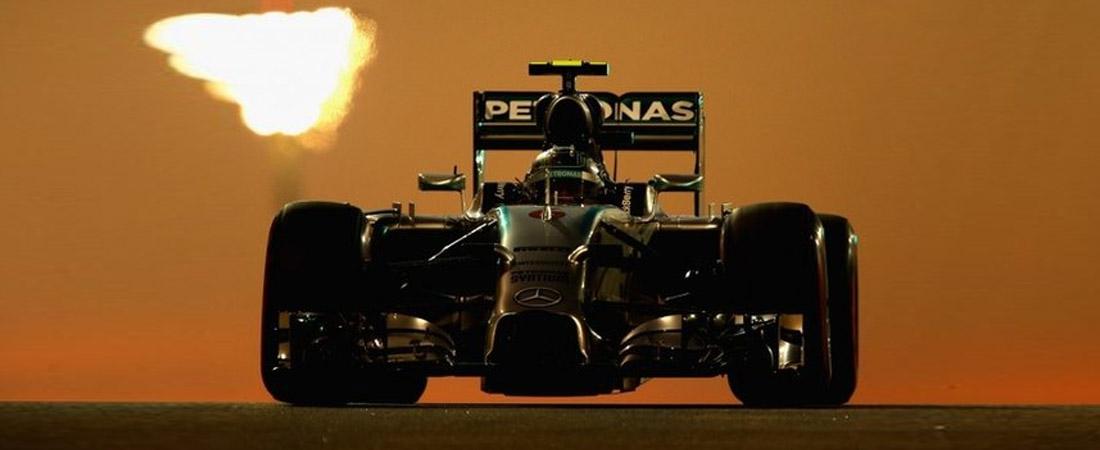Nico Rosberg Libres 2 Abu Dhabi 2015