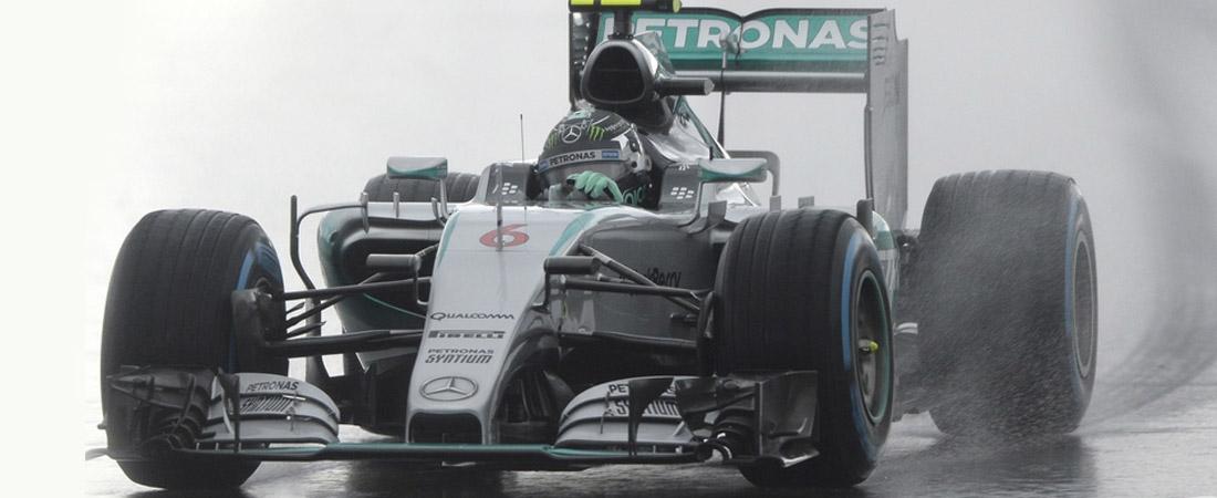 Nico Rosberg pole en Autisn texas 2015