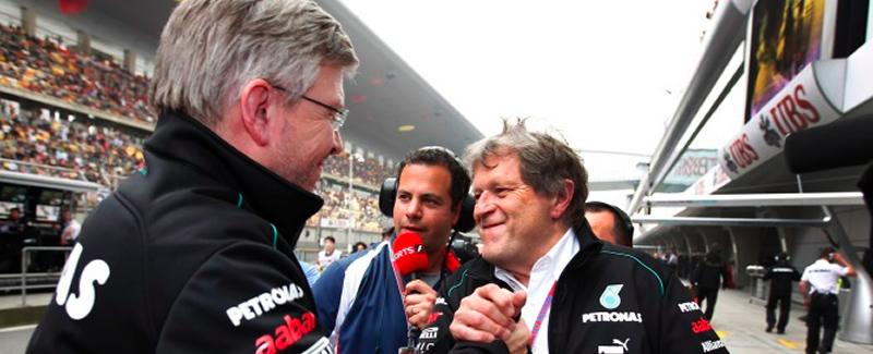 Ross brawn deja Mercedes