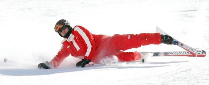 Schumacher en estado critico