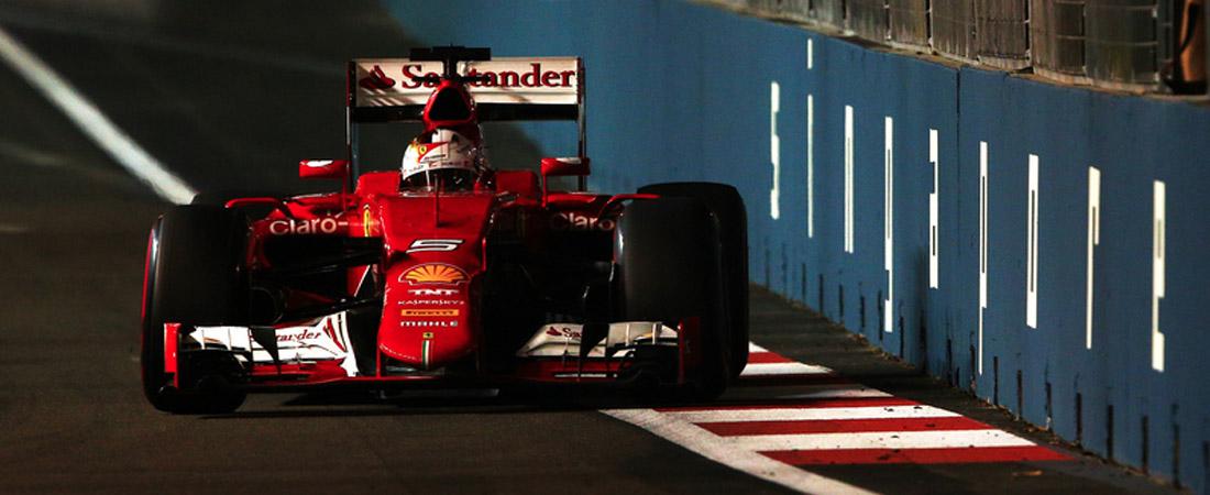 Sebastian Vettel Libres 3 Singapur 2015