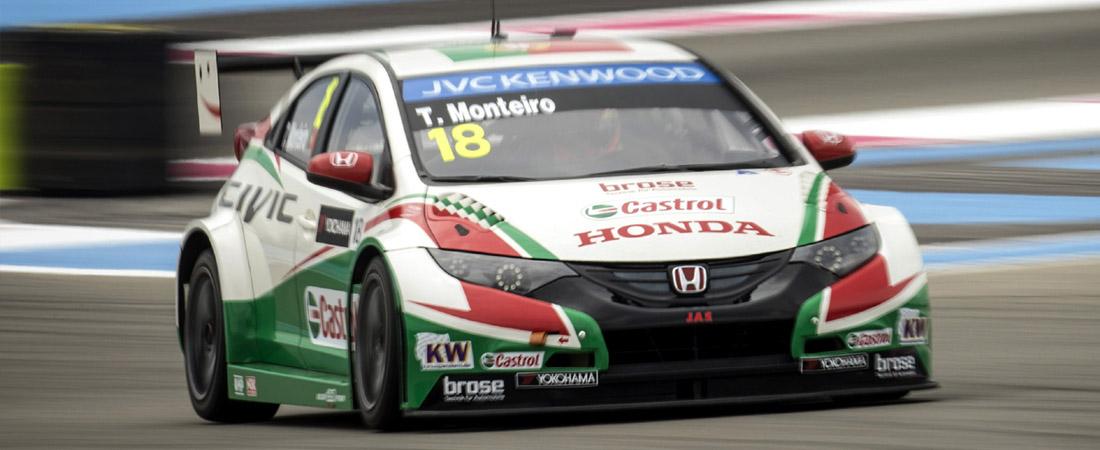 Tiago Monteiro Gana en Moteggi WTCC