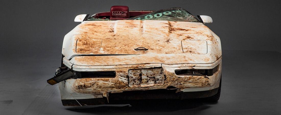 Time lapse Corvette 1 millon