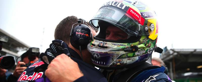Vettel gana en Brasil