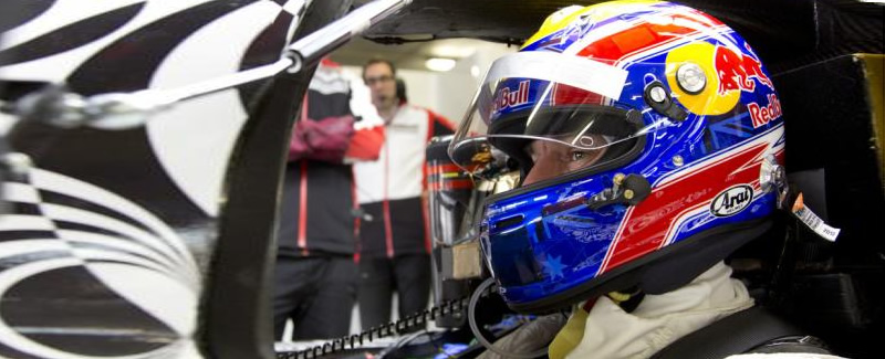 Webber test Porsche