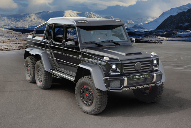 amg 6x6 front
