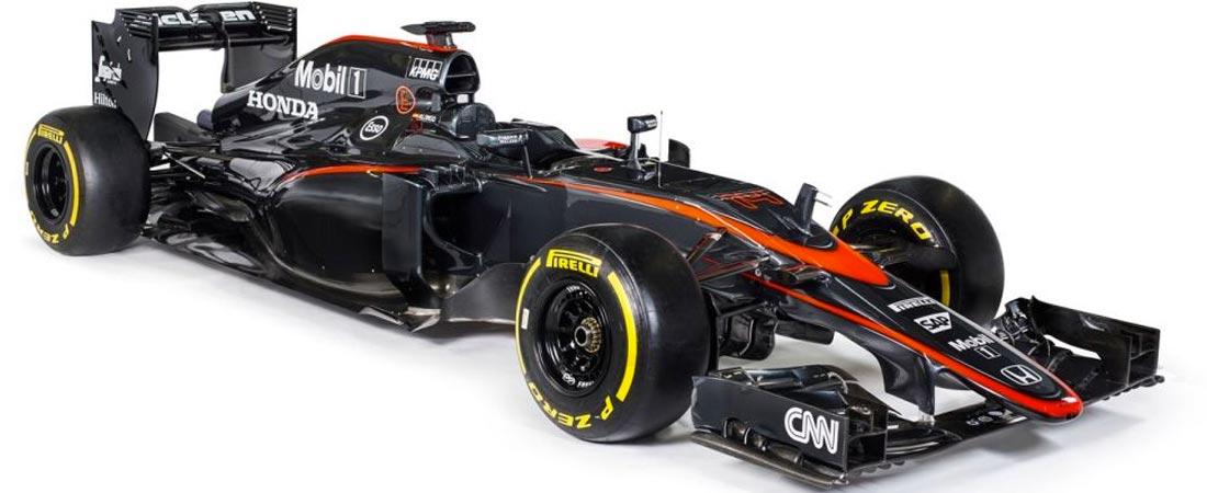 Nuevos colores de McLaren